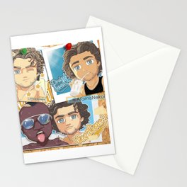 Adrien Rabiot vacations Stationery Cards