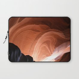 Antelope Canyon Reddish And Blue Tones Laptop Sleeve