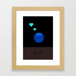 Beeee mine Framed Art Print