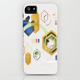 MidCentMod Collage 2 iPhone Case