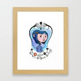 Coraline Jones Framed Art Print
