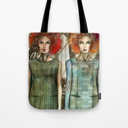 Bridge Owl Tote Bag