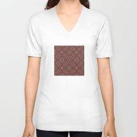 darren criss V-neck T-shirts featuring Criss Cross by JoonMoon