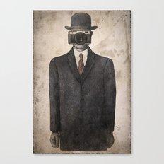 Son of Photographer Canvas Print