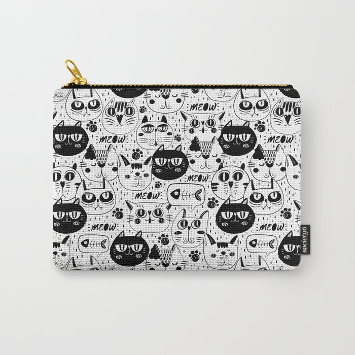 Cats Everywhere Carry-All Pouch