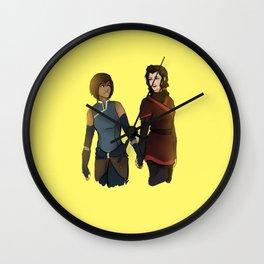 Korra and Asami Wall Clock