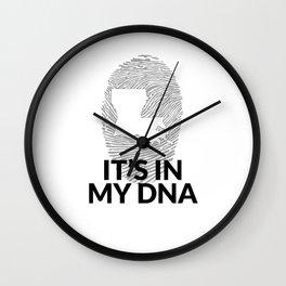 Louisiana DNA Gift for People from Louisiana  Wall Clock