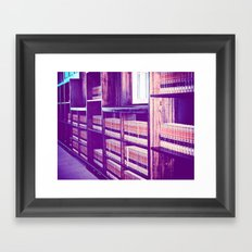 Uniformity Framed Art Print
