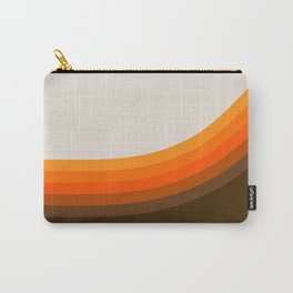 Golden Horizon Diptych - Right Side Carry-All Pouch