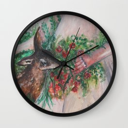 I'm healing with time Wall Clock