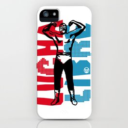 LUCHA LIBRE#60 iPhone Case