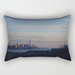 NYC View Rectangular Pillow