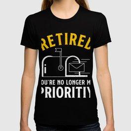 Retired Postal Worker Postman T-shirt