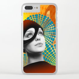 Supermodel Donna 2 - Supermodels of the Sixties Series Clear iPhone Case