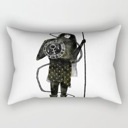 Warrior Princess Rectangular Pillow