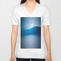 lighthouse V-neck T-shirts featuring Lighthouse  by Alyson Cornman Photography