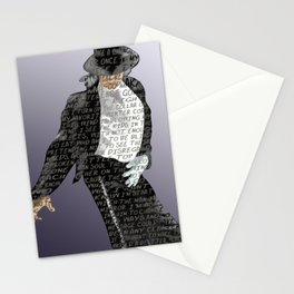 The Man in the Mirror Stationery Cards