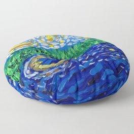 Starry River Floor Pillow