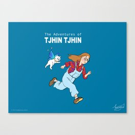The Adventures of Tjhin Tjhin Canvas Print