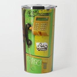 Bangkok pay phone Travel Mug