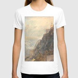 "J.M.W. Turner ""Rheinfels Looking to Katz and Gourhausen"" T-shirt"