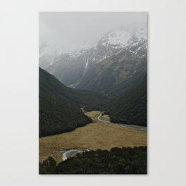 routeburn flats Canvas Print