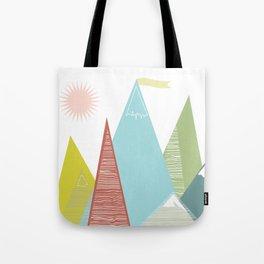 Mountain Peaks! Tote Bag