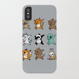 Dabbing Party iPhone Case