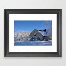 Snowland #2 Framed Art Print