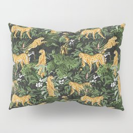 Cheetah in the wild jungle Pillow Sham