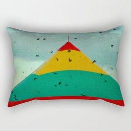 Circus Birds Rectangular Pillow