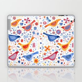 Birds in a Garden Laptop & iPad Skin