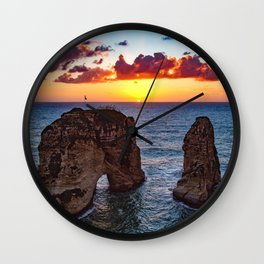 Lebanon #society6 #decor #buyart Wall Clock