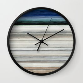 Colorbands Yellowstone Wall Clock