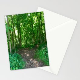 Two Roads Diverge Stationery Cards