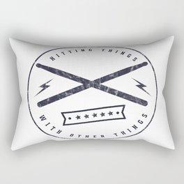 hitting things #4 Rectangular Pillow