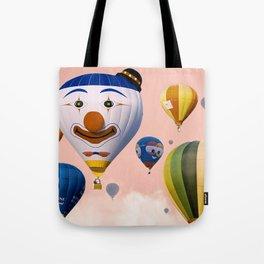 Happy with cotton candy Tote Bag