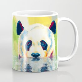 Panda taking a bath Coffee Mug