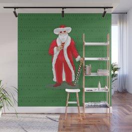 Big Pimpin' Santa Wall Mural