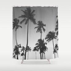 Palm Trees II Shower Curtain
