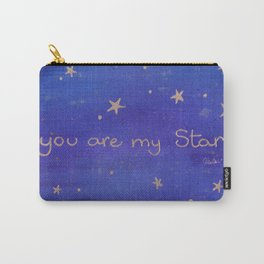 You Are My Star Carry-All Pouch