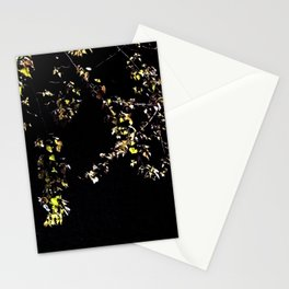 leaves in the moonlight Stationery Cards