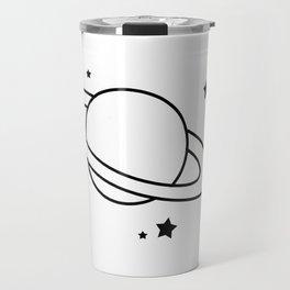 Starry Saturn Travel Mug