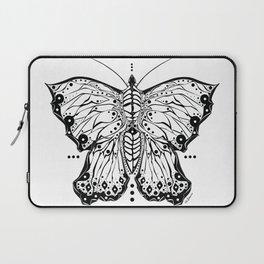 Tribal Butterfly Laptop Sleeve