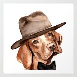 Pharrell Vizsla Art Print