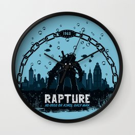 Rapture 1960 Wall Clock