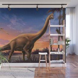 Jurassic Dinosaurs Wall Mural
