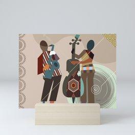 Jazz Quintet II Mini Art Print