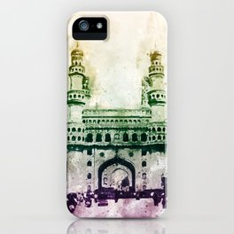 Charminar-Indian Monument iPhone Case