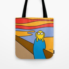 ooh Zoo – art-series, Munch Tote Bag